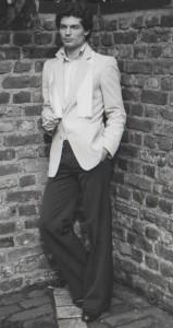 Michael Dunkel im Jahre 1978 als Model und Parfümerie-Inhaber.